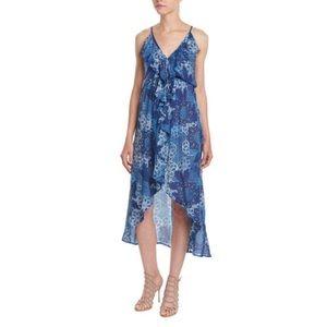 Young Fabulous & Broke Jolie Ruffle Trim Dress S